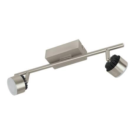 СПОТ LED 2x6W никел-мат /черно ARMENTO 1