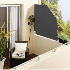 Параван за балкон - антрацит - тип Ветрило 140x140 см