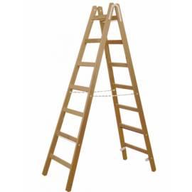 Дървена стълба 2 x 5 стъпала