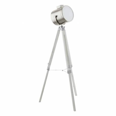 Лампион 1хЕ27 прож бяло-патинасочващ апликкрака /никел-мат UPSTREET