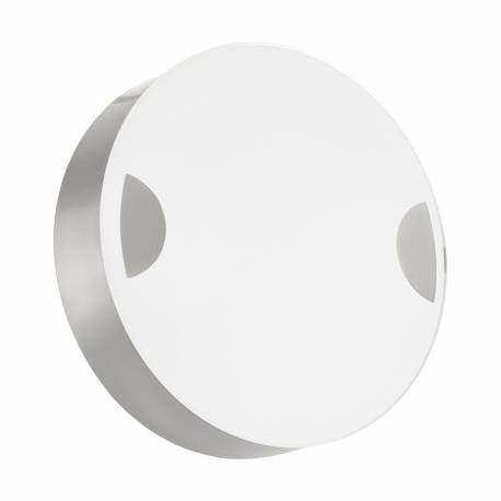Аплик LED 11W 1070lm Ø150 никел мат/бяло CUPELLA