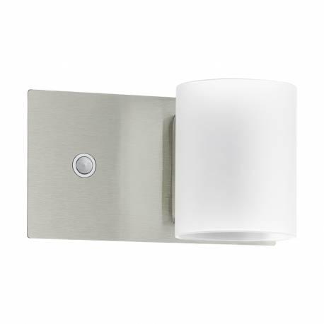 Аплик LED 1X5W 480lm никел-мат/бяло PACAO