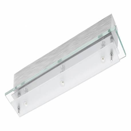 Аплик LED 3х6,04w  сатенирано/прозр. FRES 2