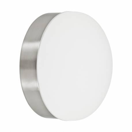 Аплик LED 6W 550lm Ø130 никел мат/бяло CUPELLA