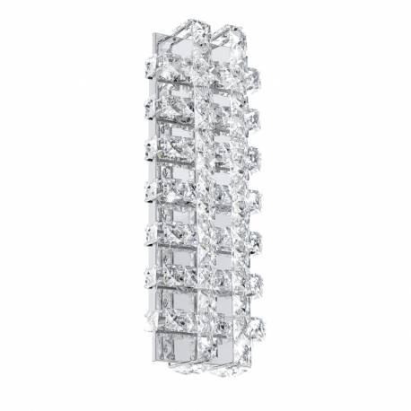 Аплик LED 6х3,3W 2220lm хром/кристал LONZASO