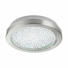 Плафон/Аплик LED 11,2W 1500lm Ø280 сат.никел/кристал, прозр. AREZZO 2