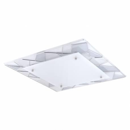 Аплик/Плафон LED 16W 1850lm 450X450 хром PANCENTO 1