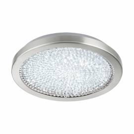 Плафон/Аплик LED 17,92W 2300lm Ø345, сат.никел/кристал, прозр. AREZZO 2
