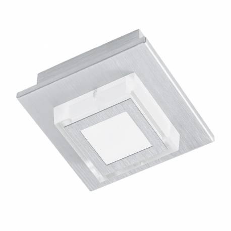 Аплик/Плафон LED 1х3,3W 340lm драскан алум./сат. MASIANO