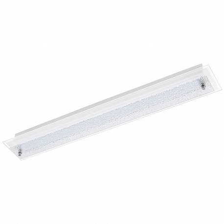 Плафон/Аплик LED 3x4,5W 1650lm 635X90 бяло/хром сат. PRIOLA