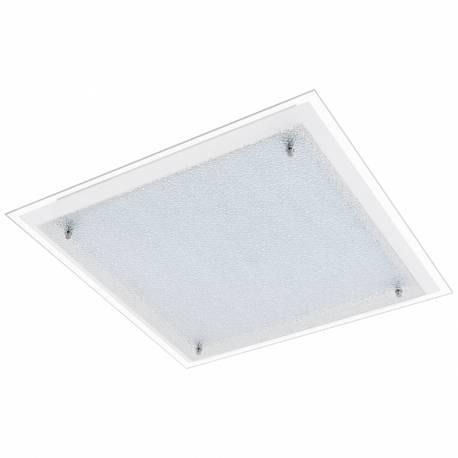 Плафон/Аплик LED 4x6,7W 3400lm 500X500 бяло/хром сат. PRIOLA
