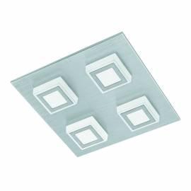 Плафон/Аплик LED 4х3,3W 1360lm драскан алум./сат. MASIANO