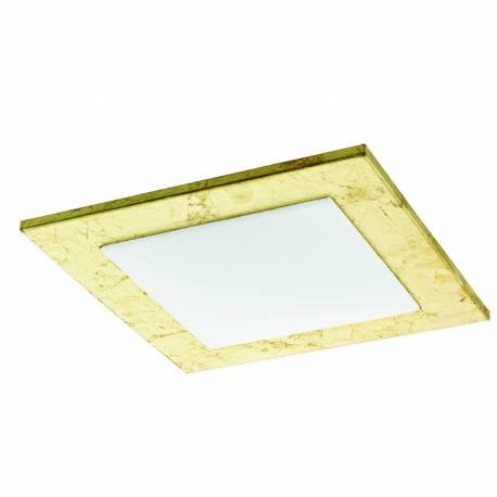 Плафон/Аплик LED 9,7W 1140lm златно/бяло CIOLINI