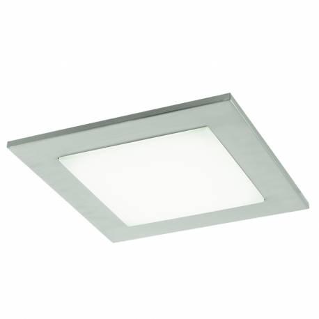 Плафон/Аплик LED 9,7W 1140lm никел-мат/бяло CIOLINI