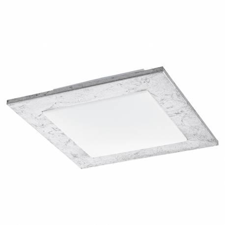 Плафон/Аплик LED 9,7W 1140lm сребро/бяло CIOLINI