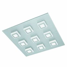 Imagén: Плафон/Аплик LED 9х3,3W 3060lm драскан алум./сат. MASIANO