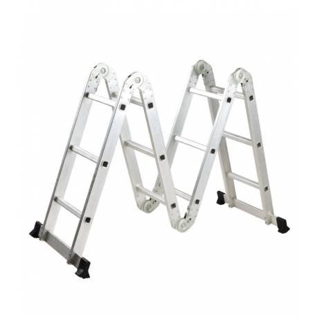 Многофункционална алуминиева стълба от 4 секции