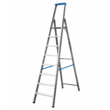 Алуминиева стълба Stabilomat, 8 стъпала