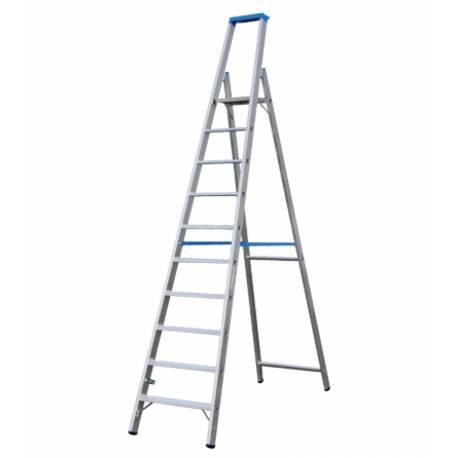 Алуминиева стълба Stabilomat, 10 стъпала