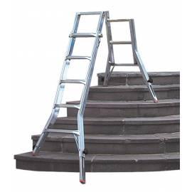 Телескопична стълба Stabilomat Profiline, 4x5 стъпала