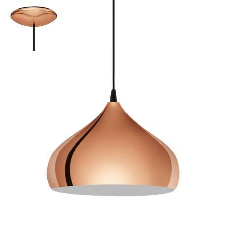 Пендел-висяща лампа 1хE27 Ф290 мед HAPTON