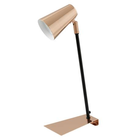 Настолна лампа LED 1хGU10 3W 200lm мед/черно TRAVALE