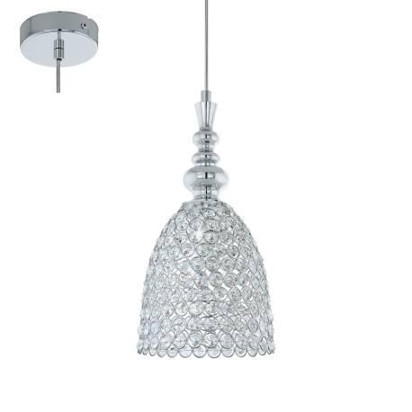 Пендел-висяща лампа 1хE27 Ø195 хром/прозр. GILLINGHAM