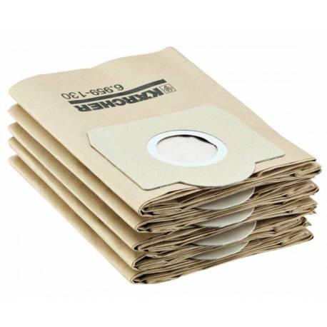 Хартиена торба Kärcher, 5 броя