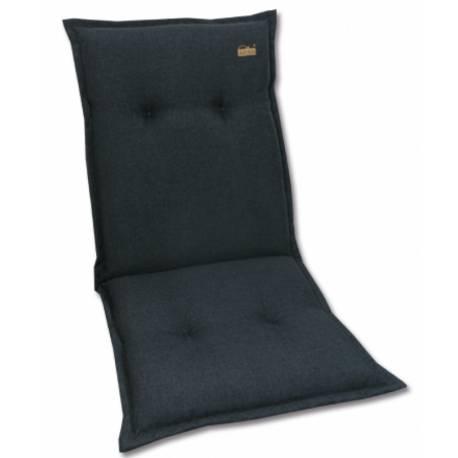 Ниска възлавница за градински стол 107х52х7 см, антрацит