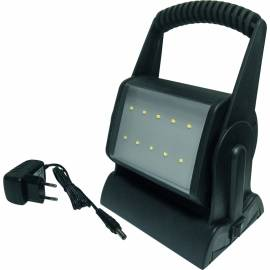 LED мобилна работна лампа с 12 диода, батерия и адаптер,