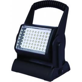 LED мобилна работна лампа, с батерия и адаптер