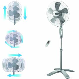 Стоящ вентилатор с дистанционно - 40 см, 4 скорости, 55 W