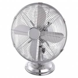 Настолен вентилатор Retro, метал, 30 см, 35 W