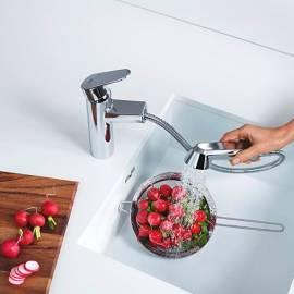 Imagén: Кухненски смесител Grohe Eurodisc Cosmopolitan, с душ за съдове