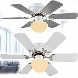 Таванен вентилатор с осветление - Е27 (60W),  82см - диаметър, 6 перки