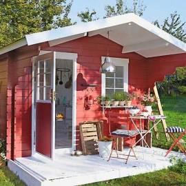 Дървена градинска къща - Stockholm- 3 x 2.50 м