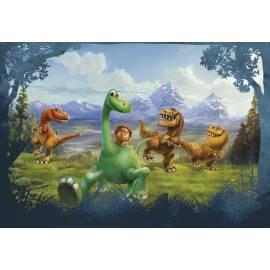 Фототапет за детска стая динозаври - 8 части, 368х254 см