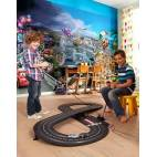 Фототапет за детска стая Коли, 8 части, 368х254 см