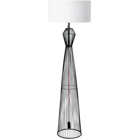Лампион 1хE27 H-1650 черно/бяло VALSENO