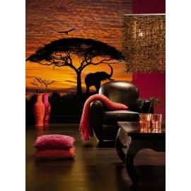 Фототапет Африка зелез, 4 части, 194х270 см