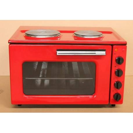 Печка Раховец 02 - червена