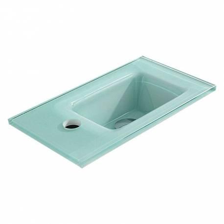 Мивка за баня - стъклена - 40 x 22.2 см