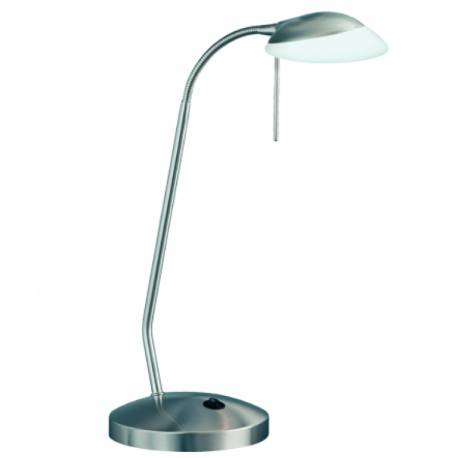 Настолна лампа с touch димер, 1хG9, 40 W, матиран месинг