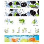 Гланцов принт - термоустойчив гръб за кухня - зеленчуци