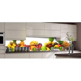 Кулинария - термоустойчив гръб за кухня - гланц, 3040 х 604 х 8 мм