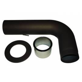 Комплект кюнци изтеглени - ф150 мм, черни