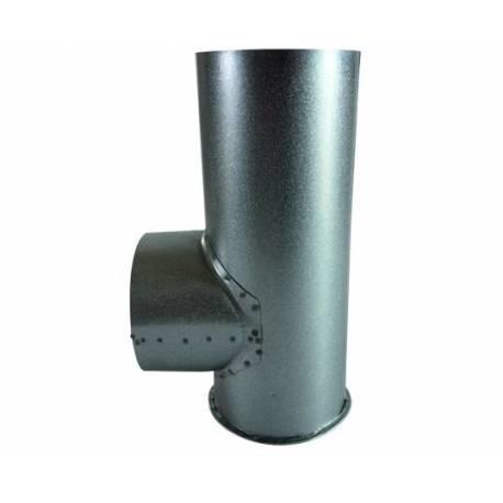 Тройник за кюнец с тапа- ф120 мм