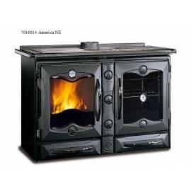 Готварска чугунена печка - Америка, черна