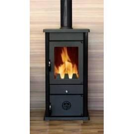 Печка на дърва и твърдо гориво VESTA - 9 kW