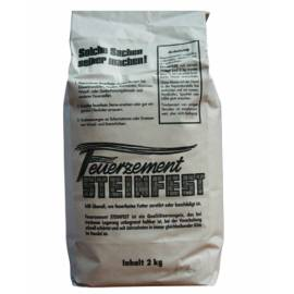 Огнеупорен термоустойчив цимент 2 кг